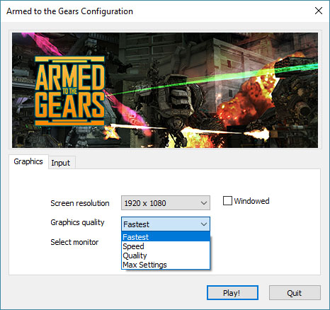 Armed to the Gears: How to Improve Performance