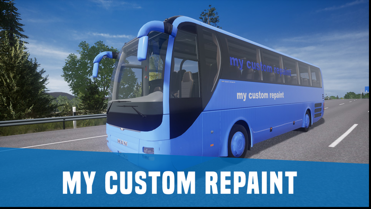 Tourist Bus Simulator: How to Customize Repaints