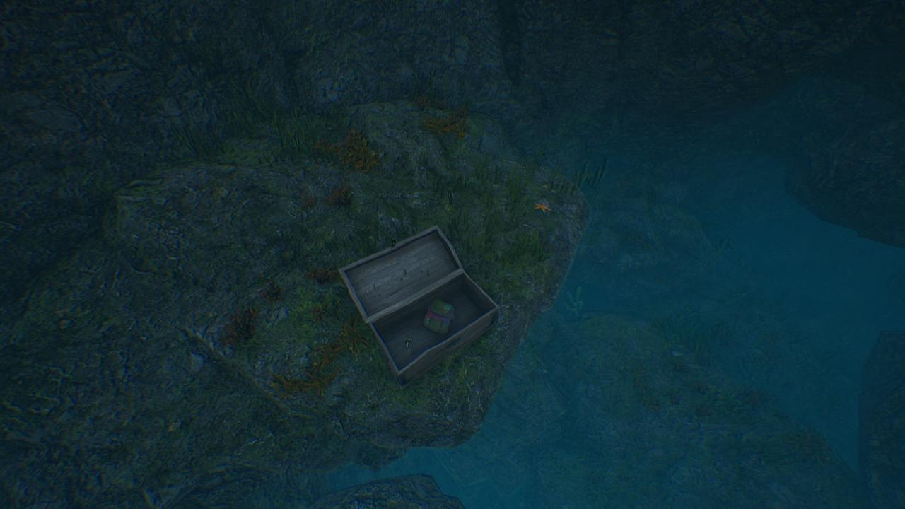 SCUM: All Underwater Cave Location