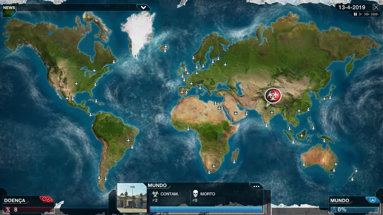 Plague Inc: Evolved - How to Get Smallpox 3 Biohazards