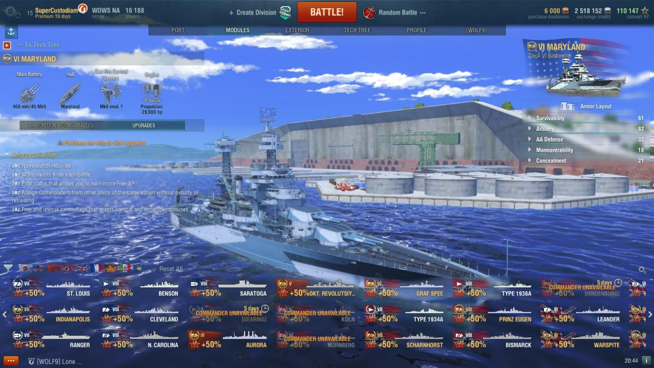 World of Warships: How to Rename Your Ships
