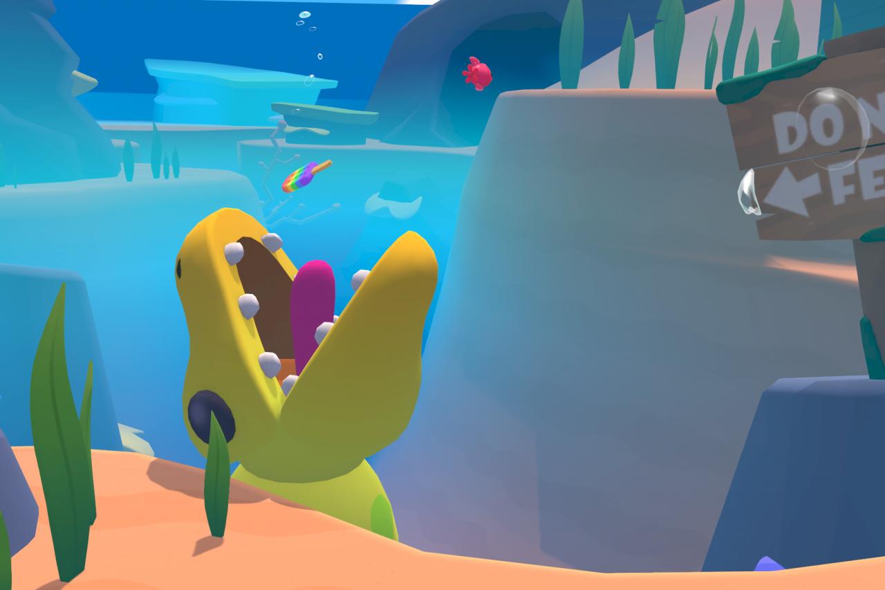 Vacation Simulator: All Sea Animals Locations