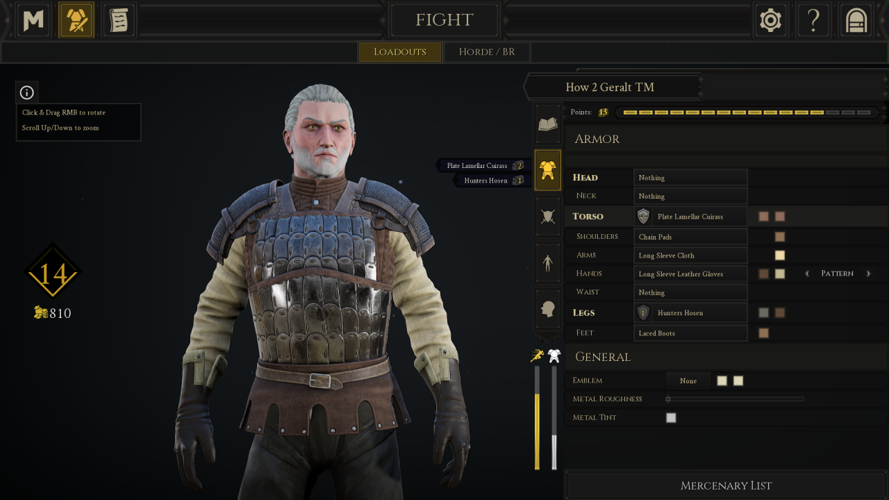 MORDHAU: How to Create Geralt