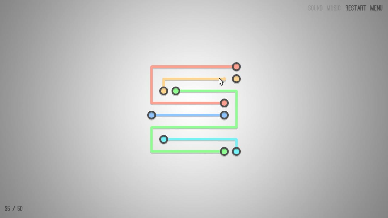 Lines X Free: All 50 Levels' Solutions (2019)