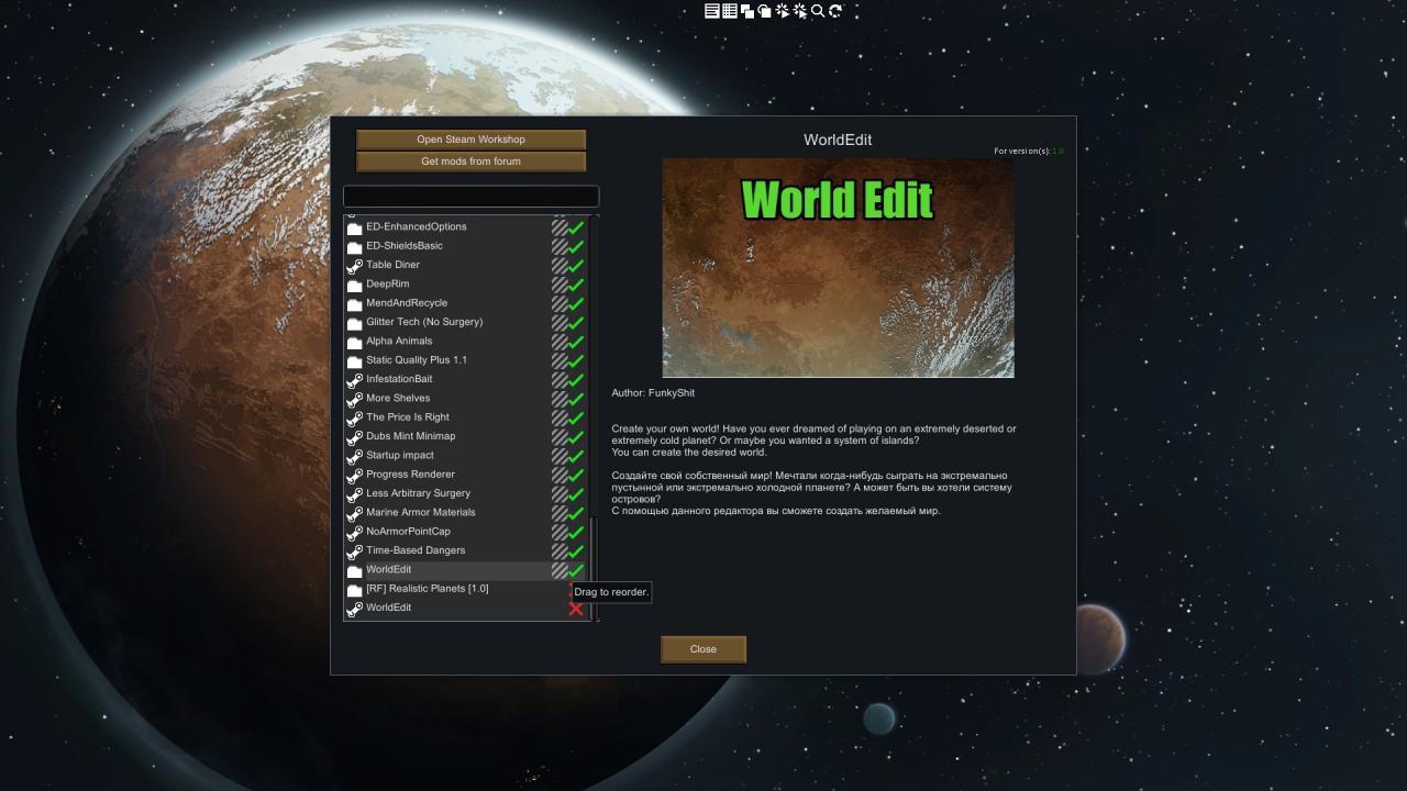 RimWorld: WorldEdit User's Manual - SteamAH