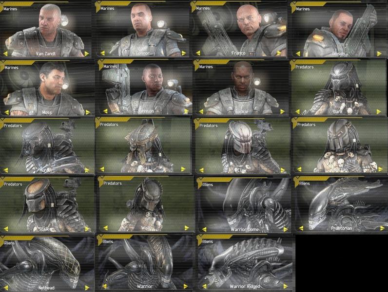 Aliens vs. Predator: How to Unlock All Skins