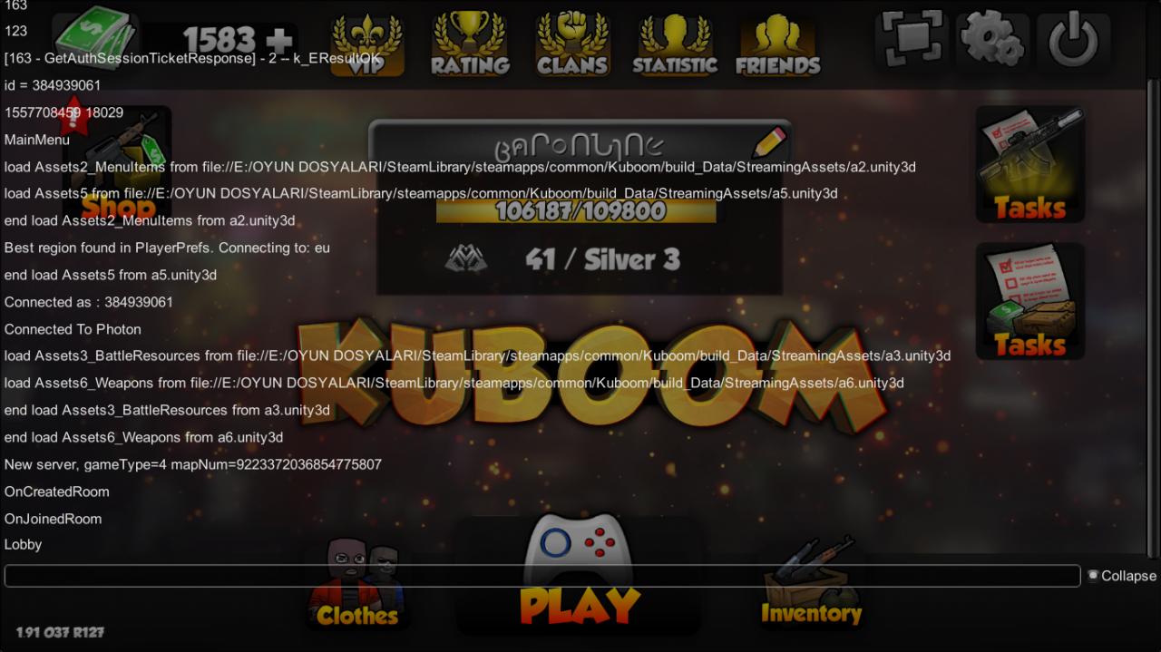 Kuboom: Hidden Console Command Guide