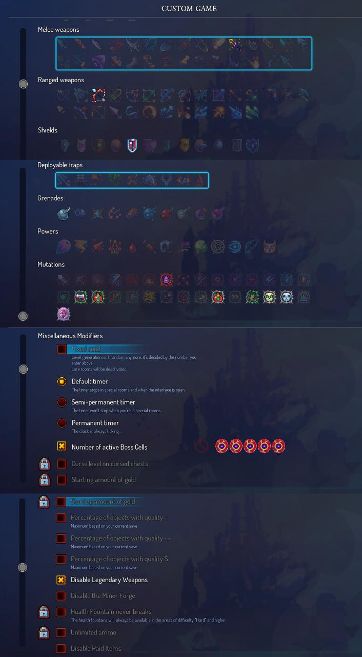 Dead Cells: Strategy for 5 Boss Cell Difficulty