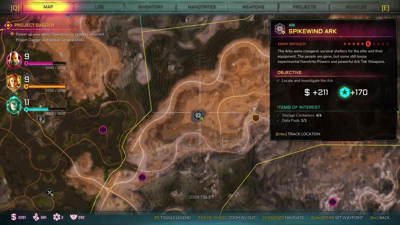RAGE 2: Ark Locations Guide