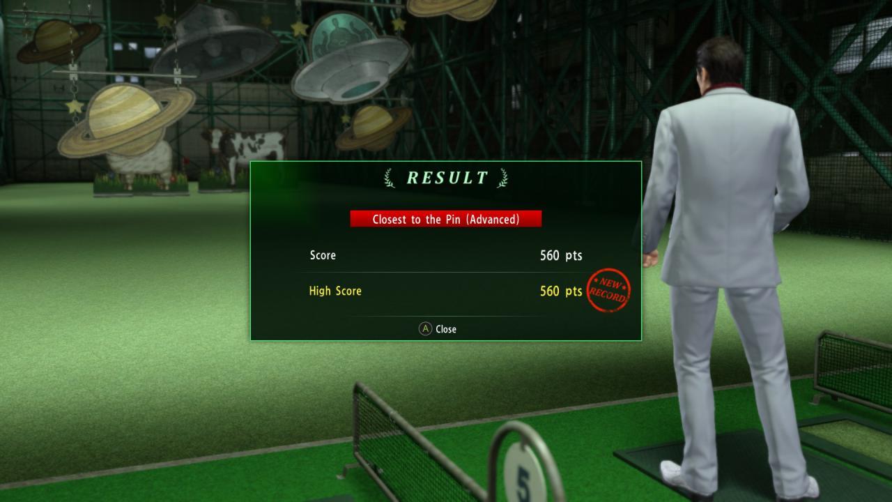 Yakuza Kiwami 2: Advanced Golfing Guide