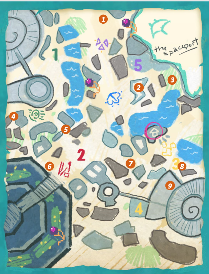 Diaries of a Spaceport Janitor: Location of Every God
