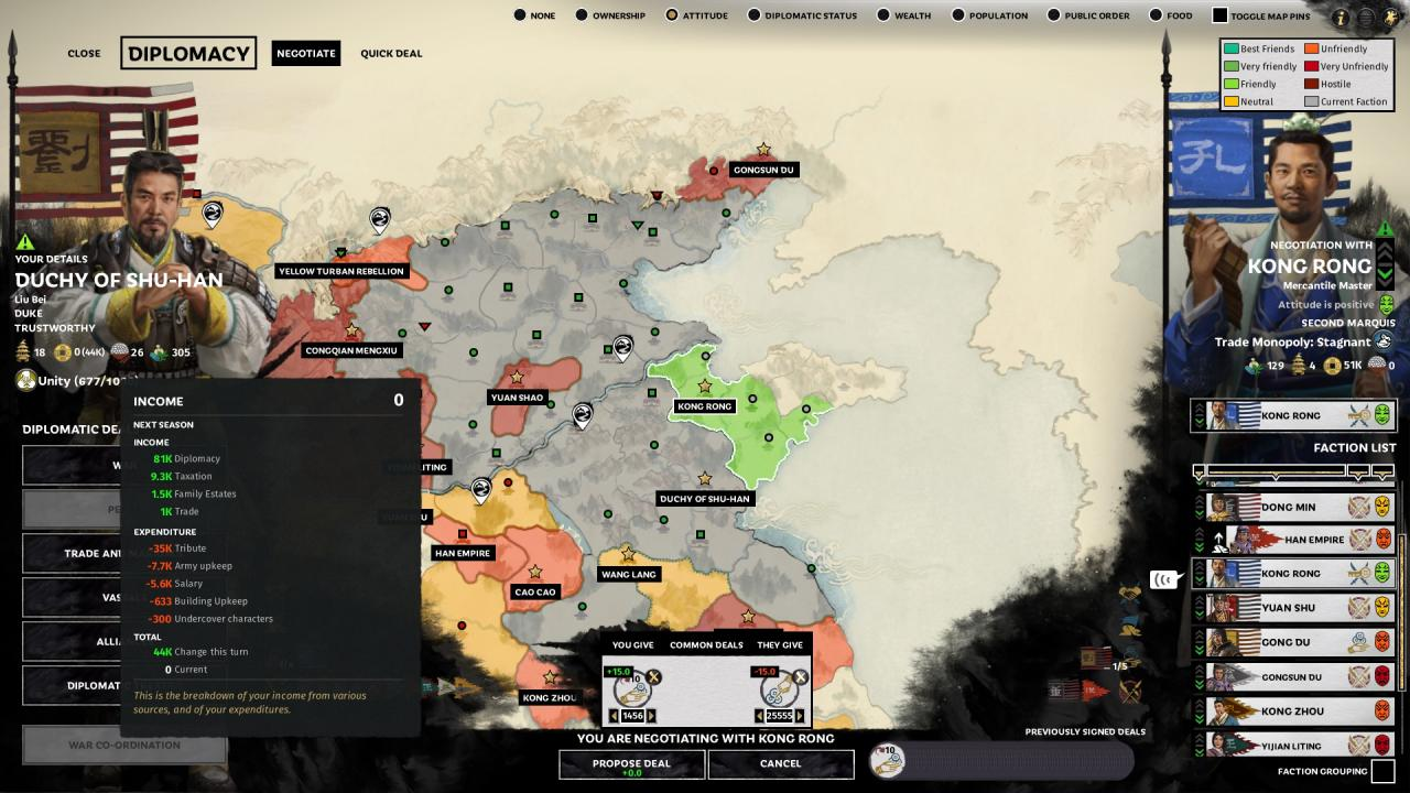 Total War: THREE KINGDOMS - Fast Infinite Money Guide