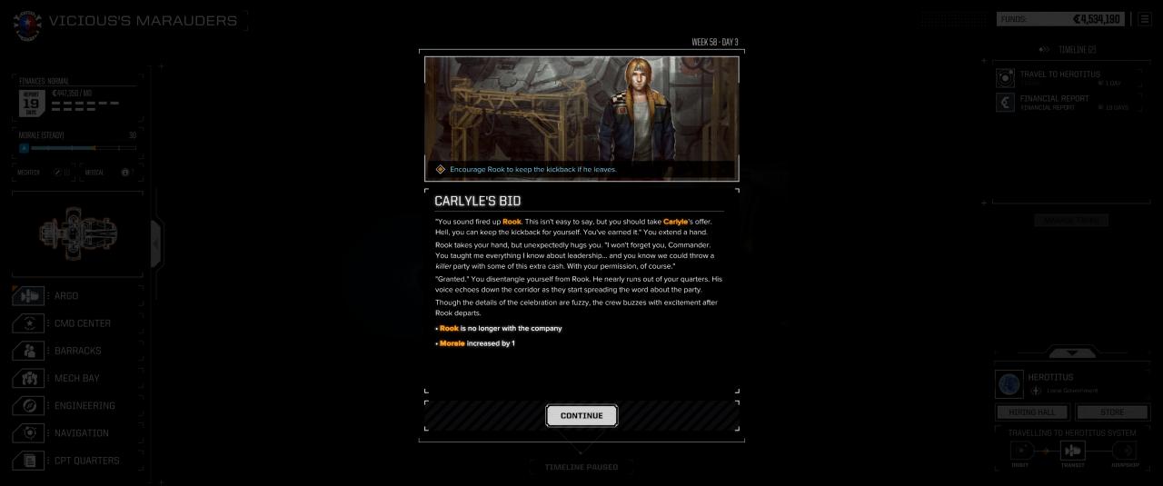 BATTLETECH: Events Guide