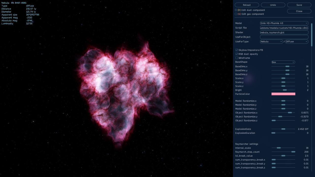SpaceEngine: How to Make Very Okay Nebulae