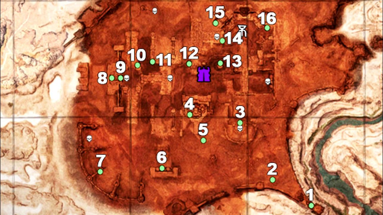 Conan Exiles: All Fragments of Power Chest Locations