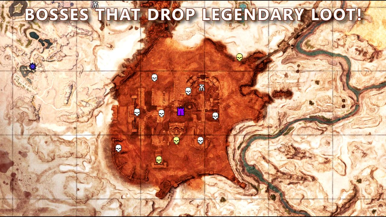 Conan Exiles: Bosses and Legendary Loot Guide