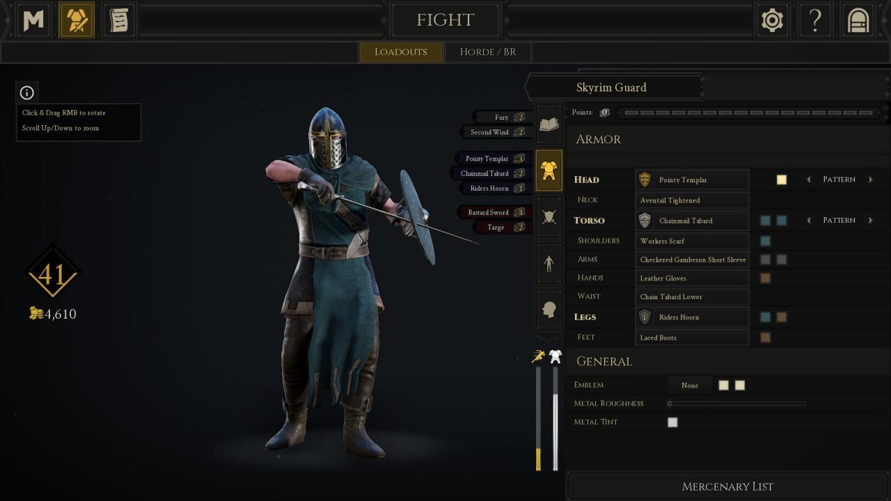 MORDHAU: Skyrim Guard Guide