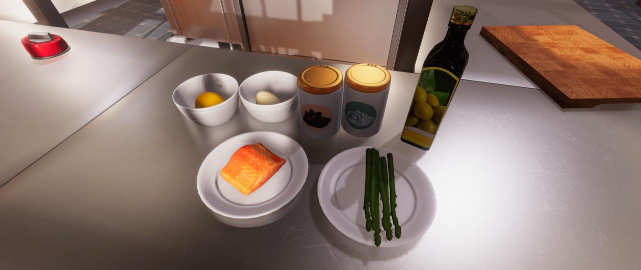 Cooking Simulator: Classic Salmon & Asparagus Guide