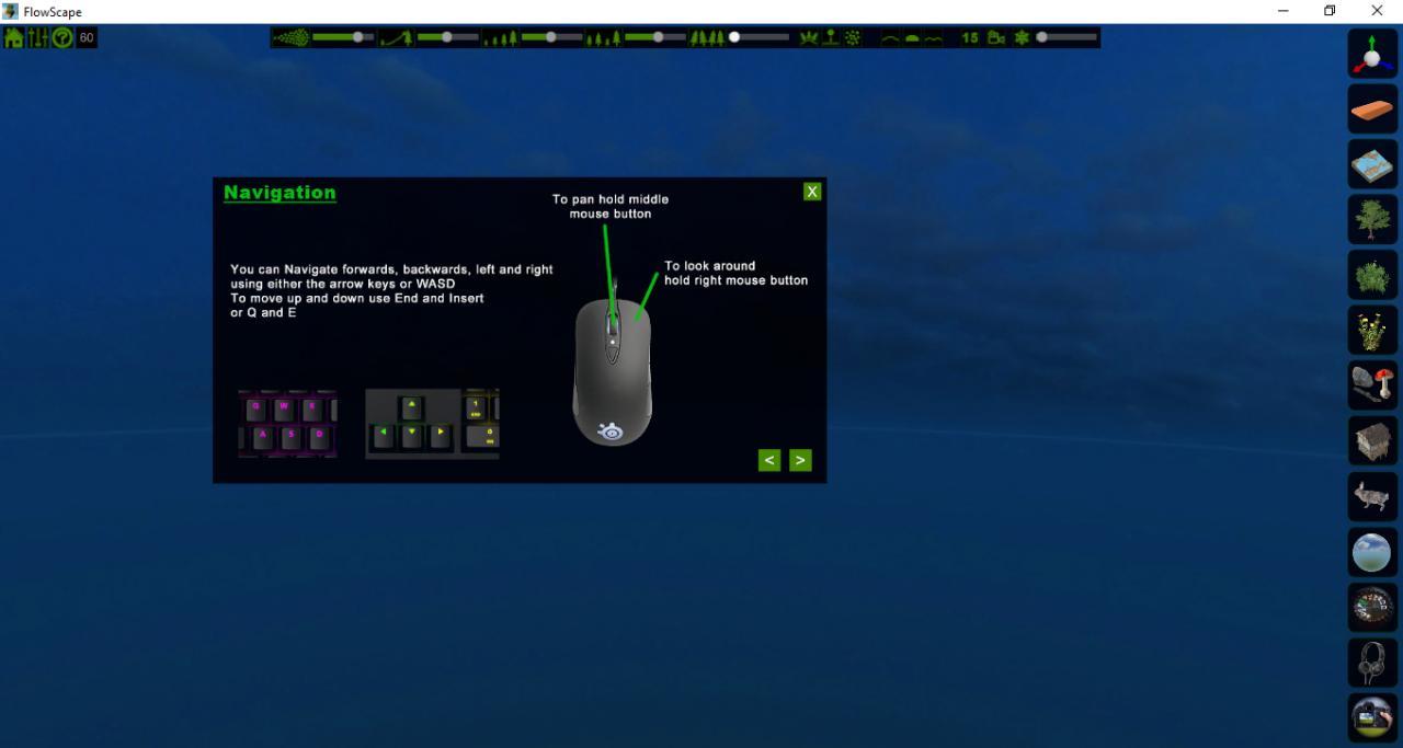 FlowScape: Controls Guide
