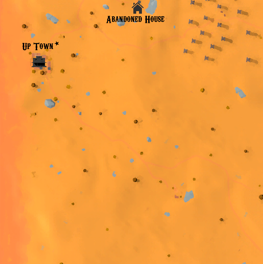 Wild West and Wizards: All Locations