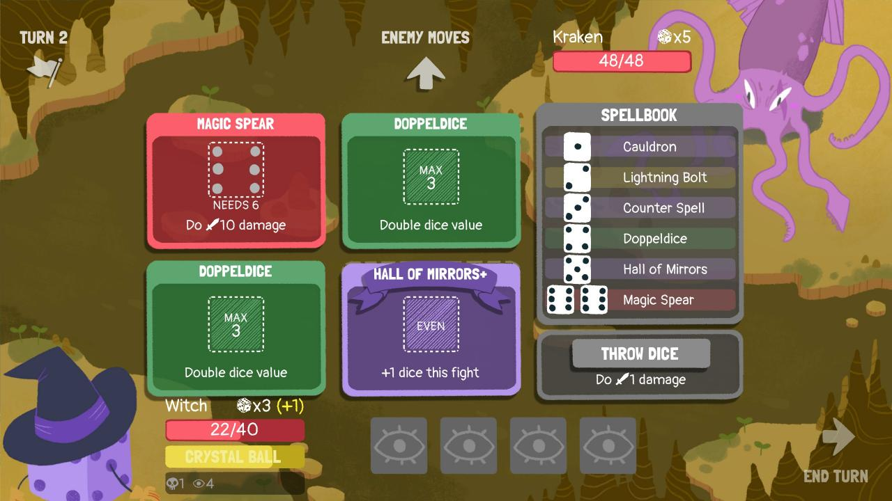 Dicey Dungeons: Episode 4 Witch Guide
