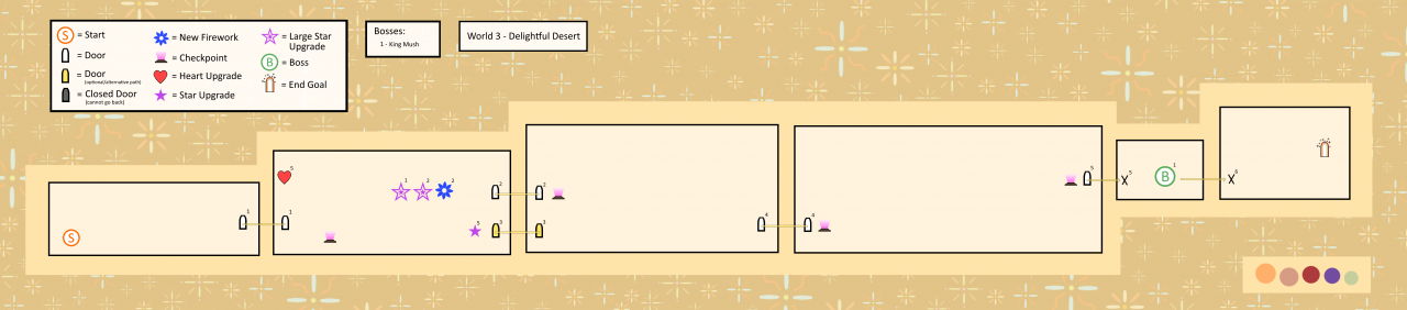 Ameagari no Hanaby: 100% Items and Maps Guide