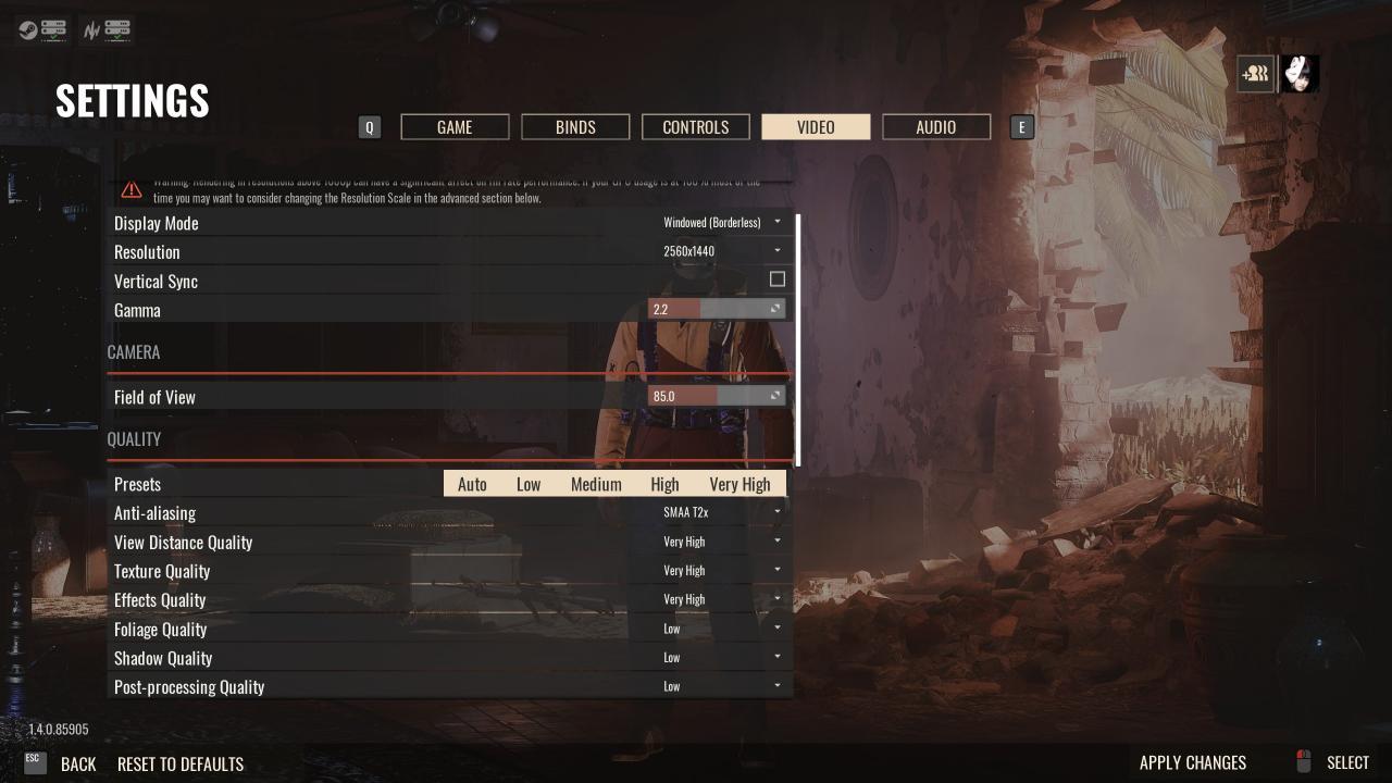 Insurgency: Sandstorm - Optimal Settings for High-end PC
