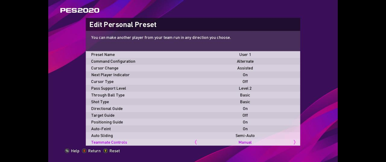 eFootball PES 2020: How To Fix Player Switching