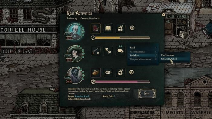 Stygian: Reign of the Old Ones - Crafting & Rest Guide