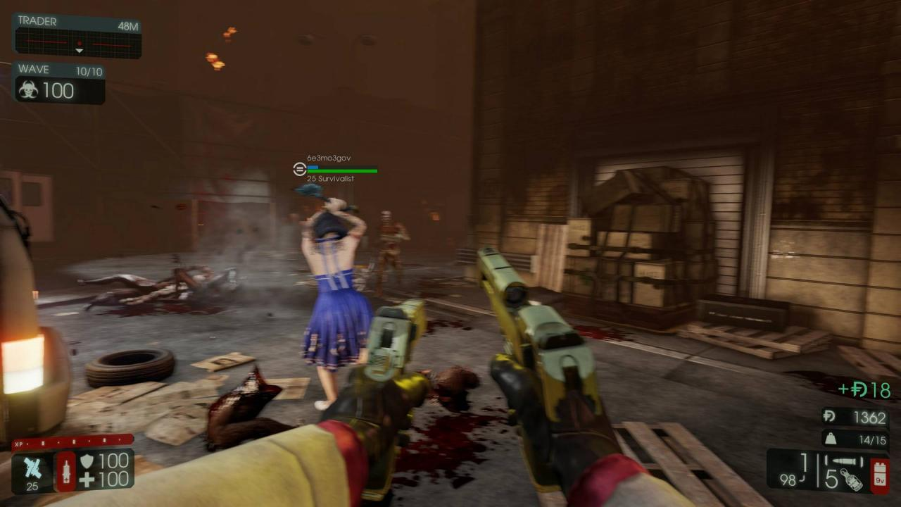 Killing Floor 2: How to Force Motion Blur