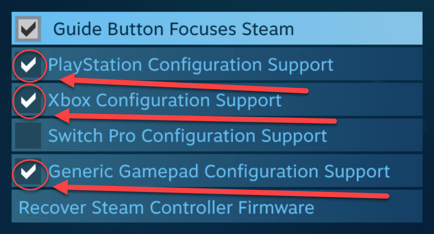 Task Force: Controller Setup Guide