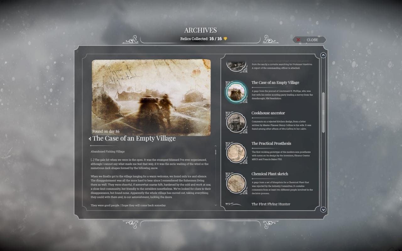 Frostpunk: Master Archivist Guide