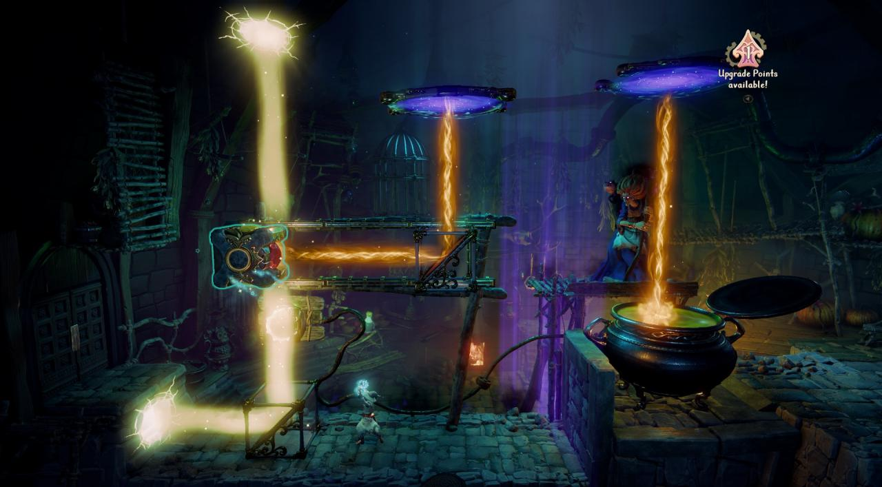 Trine 4: The Nightmare Prince - Mirror and Cauldron Puzzles Solutions