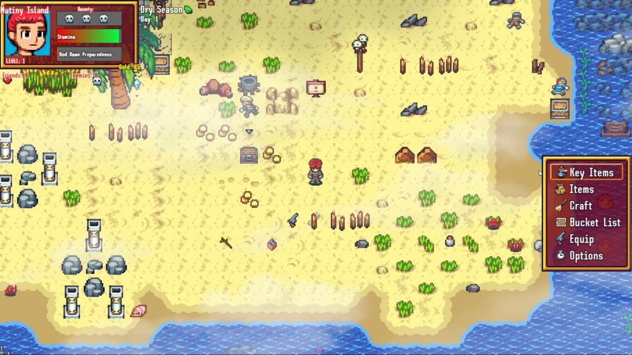 Mutiny Island: Basic Walkthrough